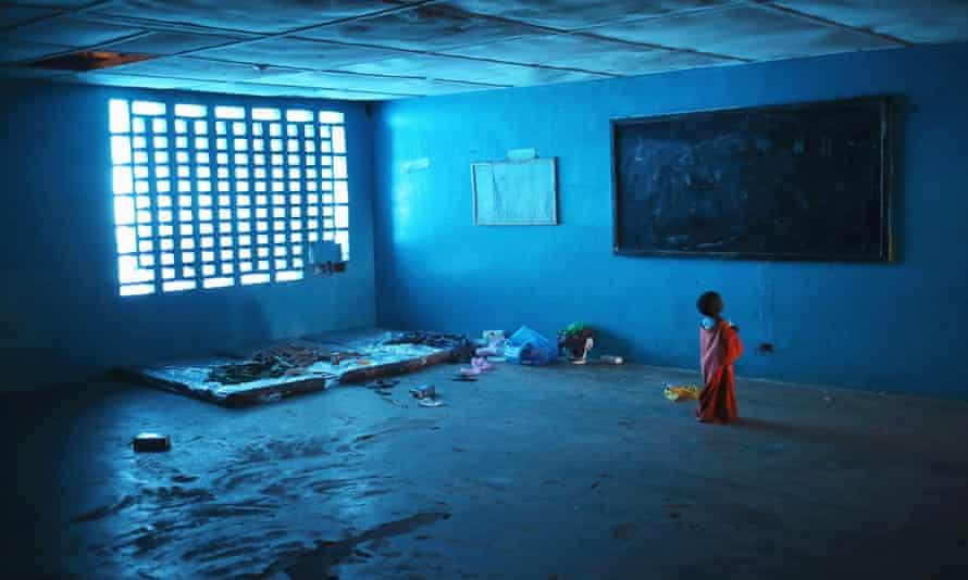 Ebola isolation center