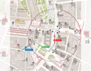 City ID's wayfinding for Moscow