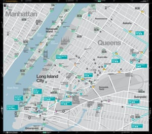 A map from the Walk NYC project.