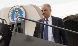 Eric Holder in St Louis