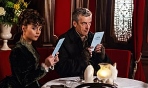 Jenna Coleman and Peter Capaldi in Doctor Who: 'a little ingenuity wouldn't have gone amiss.'