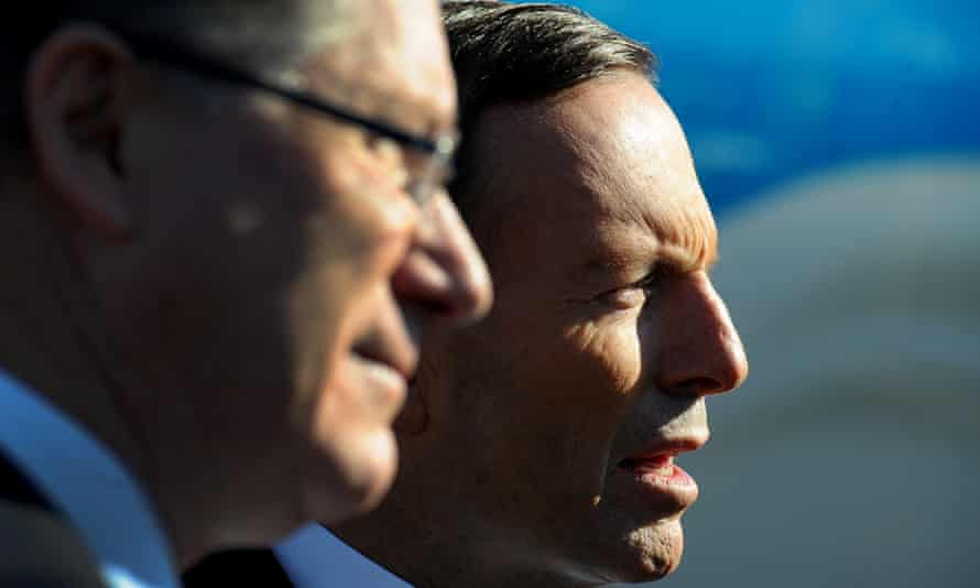 Denis Napthine and Tony Abbott
