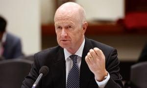 Governor of the Reserve Bank of Australia Glenn Stevens.