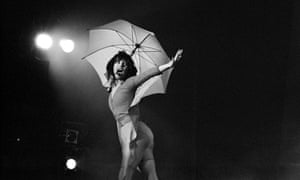 Kate Bush performing live onstage on the Tour Of Life