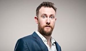 Alex Horne … patenting a new genre of task-based standup.