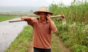 rural chinese farmer