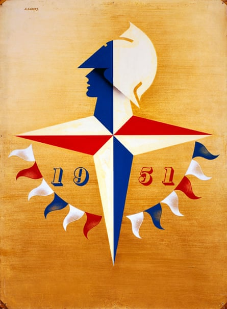 Abram Games's symbol for the 1951 Festival of Britain