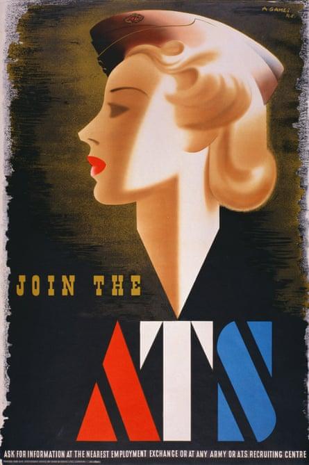 Abram Games's wartime ATS  recruitment poster