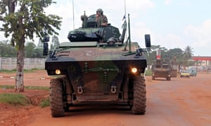French troops in Central African Republic