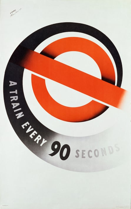 A Train Every 90 Seconds poster by Abram Games