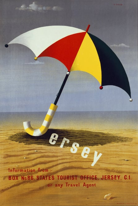 Jersey tourism poster by Abram Games