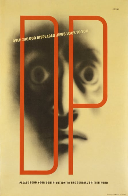 Displaced Jews poster by Abram Games