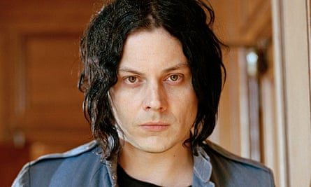Jack White photographed at London County Hall