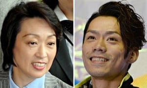 Seiko Hashimoto and Daisuke Takahash