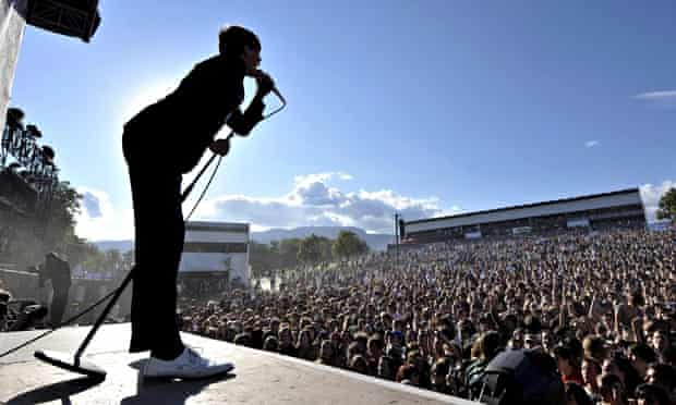 The Hives in concert