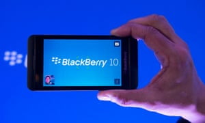 BlackBerry's Z10 met indifferent buyer reactions - and now the company's strong position in the UK is being eroded.