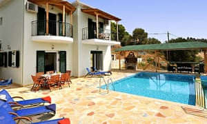 Holiday villa with its own private swimming pool