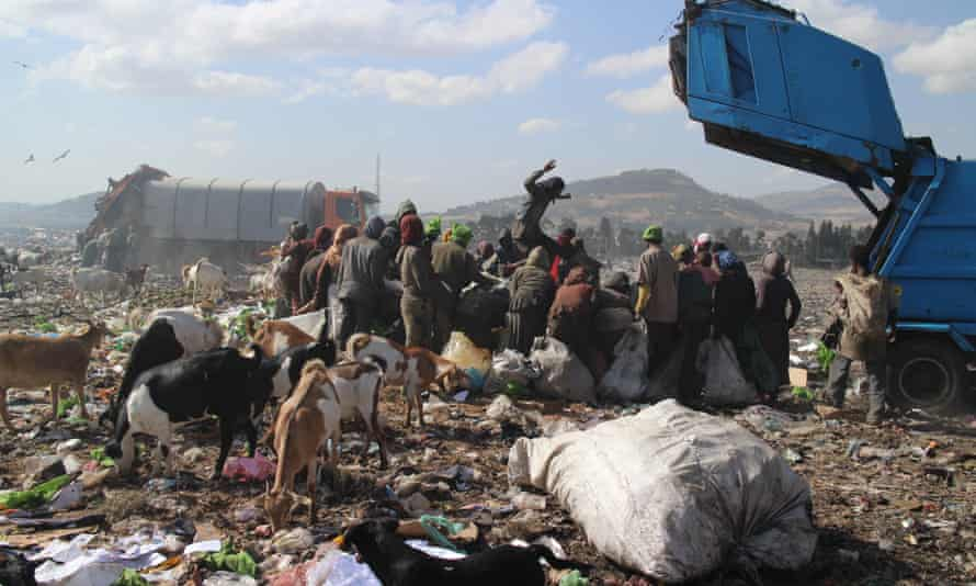 Koshe rubbish dump, Addis Ababa.