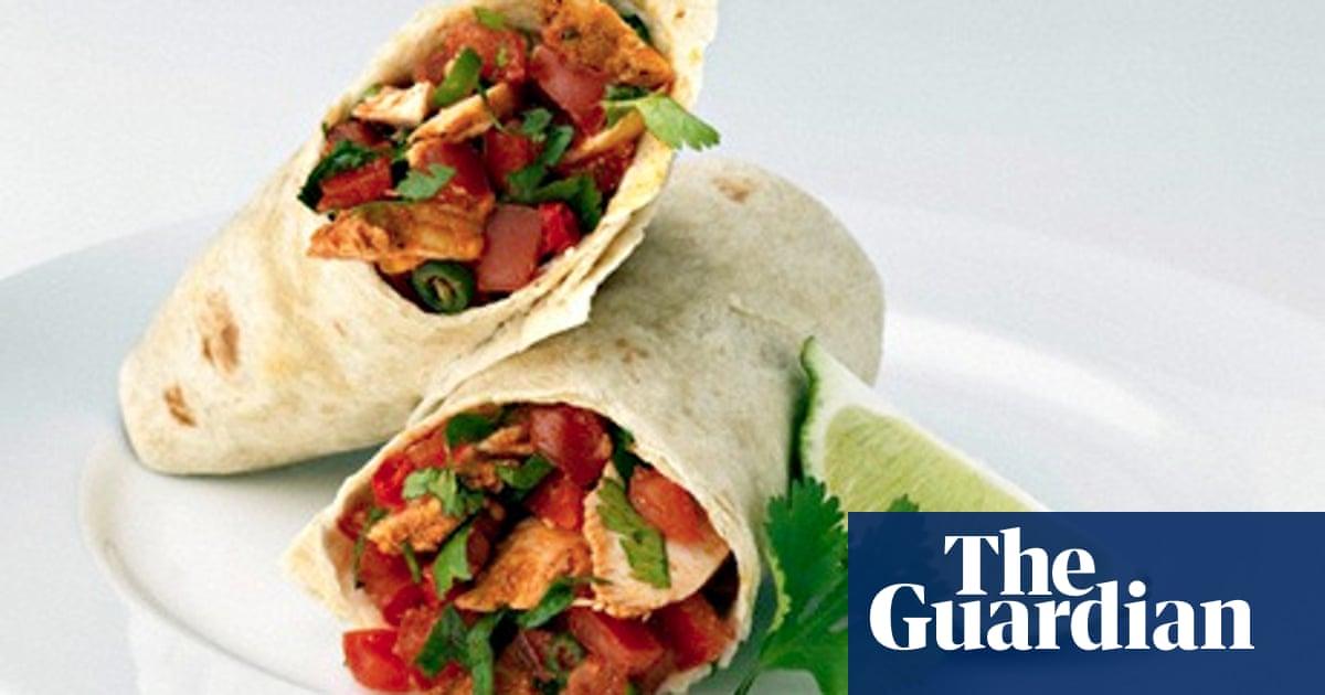 water and burrito diet