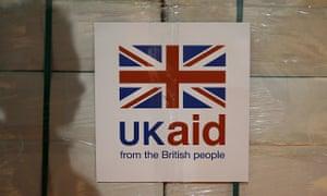 UK aid label