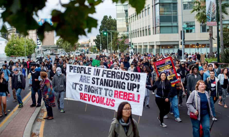Oakland protest for Michael Brown