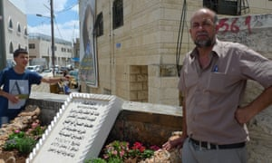 Hussein Abu Khdeir father of Mahmoud Abu Khdeir 16 year old Palestinian teen abducted and burnt alive by extremists.