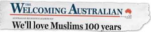 Australian headline