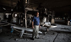 Gaza counts cost of war as more than 360 factories destroyed