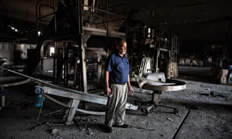Mohammed Al Tebani's in Gaza, which made ice cream among other sweets, and was dest