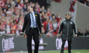 Former Cardiff City manager Malky Mackay.