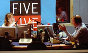 Victoria Derbyshire on air at 5 Live