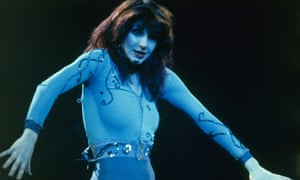 Spandex and chiffon: Kate Bush's most stylish moments – in