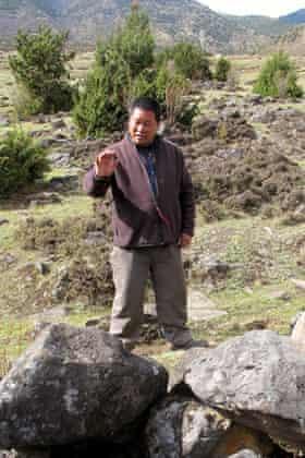 Yak herder Lam Richen