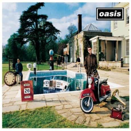 Oasis album cover