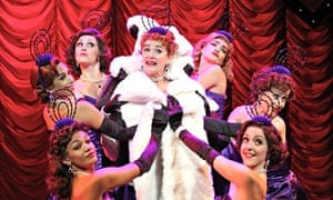 'Astonishing range': Sophie Thompson in Guys and Dolls in Chichester.