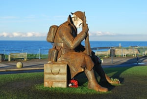 Seaham's first world war sculpture