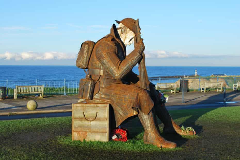 Seaham's first world war sculpture