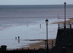 The Norfolk seaside town of Cromer.