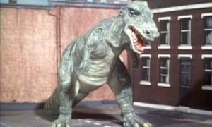 Dr Who dinosaur