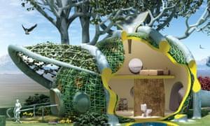 fab tree hab, tree sphere, micro-living, micro-apartment, terreform