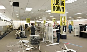 Comet closing down sale, Tunbridge Wells, Kent, Britain - 01 Dec 2012