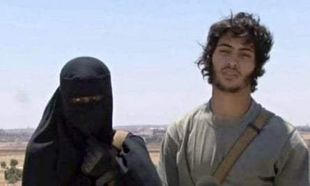 Khadijah Dare and Isis fighter husband