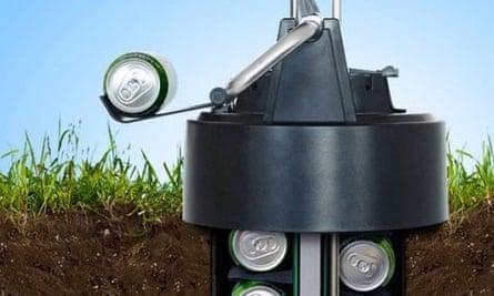eCool beer cooler