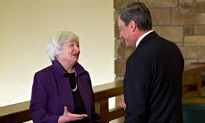 Janet Yellen  and Mario Draghi
