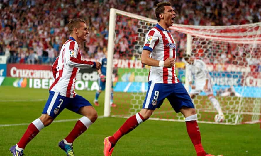 Atletico Madrid's Mandzukic