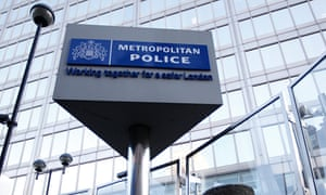 A general view of New Scotland Yard, the headquarters of the London Metropolitan Police