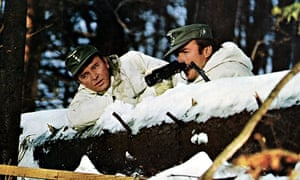 Richard Burton, left, and Clint Eastwood in Where Eagles Dare, 1968.