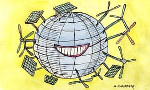 'Global energy consumption has fallen since 1970 while the economy has nearly trebled in size.'