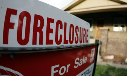 US Money foreclosure home