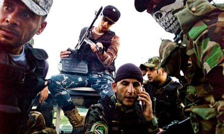 On the frontline with the Shia fighters taking the war to Isis